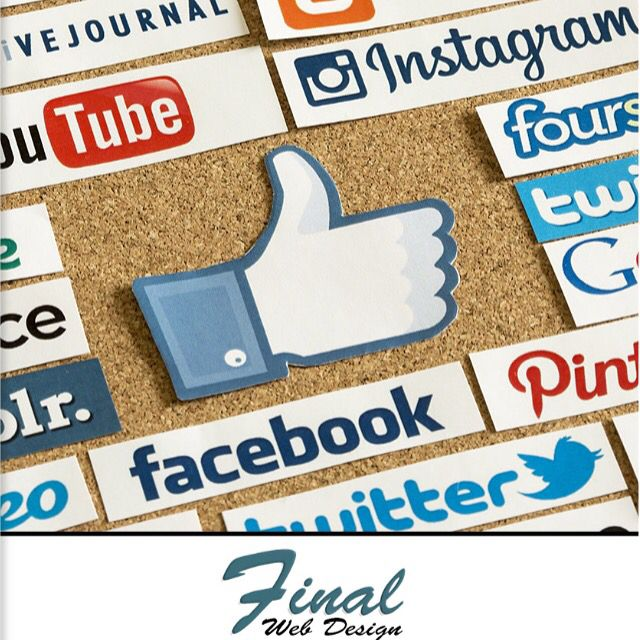 These days there are countless social media outlets available to connect your business to clients and customers.  Build your social media presence today with the professional team at https://FinalWebDesign.com/Internet-Marketing/Social-Media-Marketing or call (888) 674-7779  #Marketing #SocialMedia #SocialMediaMarketing #Facebook #Instagram #Twitter #SocialMarketing #InboundMarketing #WebDesign #FinalWebDesign