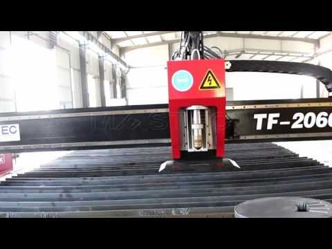 High Precision cnc plasma cutting machine--Echt Series