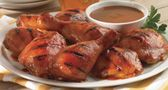 57 Sauce Glazed Chicken: ingredients    1 bottle (10 oz.) Heinz 57® Sauce  1/4 cup honey  2 lb. chicken pieces  directions    1. In a medium bowl, whisk together 57 Sauce and honey.  2. Grill or broil chicken about 25-30 minutes, turning once.  3. Grill an additional 10 minutes, turning and brushing with sauce.