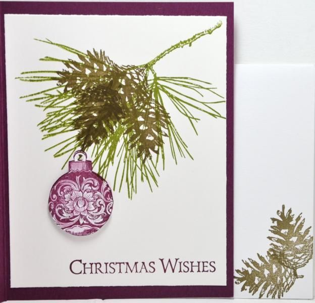Ornamental Pine and Envelope bensarmom by bensarmom - Cards and Paper Crafts at Splitcoaststampers