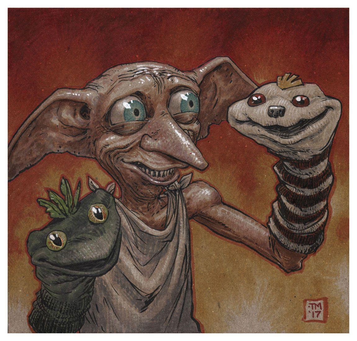 Dobby Print — COLONEL TONY MOORE Harry potter train