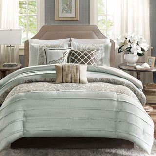 Madison Park Cotswald 7-Piece Comforter Set - Overstock™ Shopping - Great Deals on Madison Park Comforter Sets