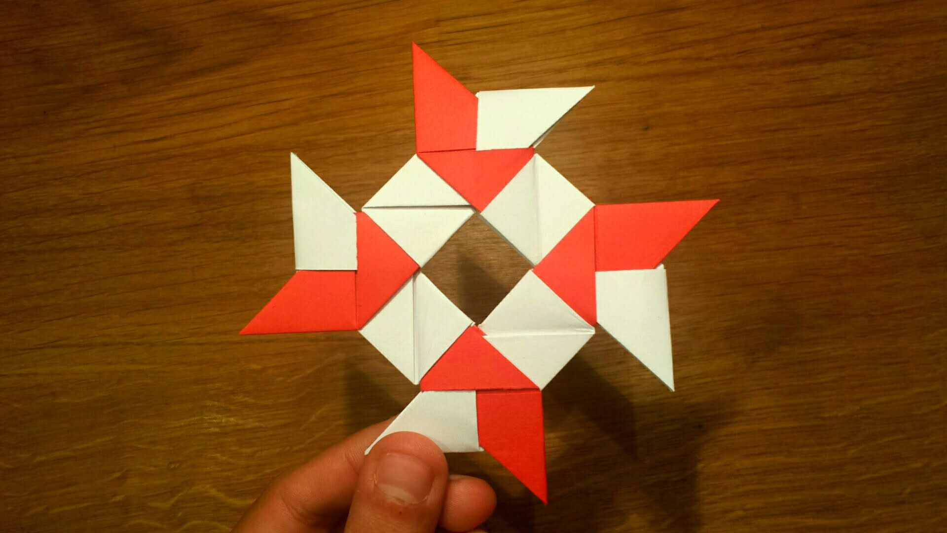 How To Make a Paper 8-pointed Ninja Star - Origami ... - photo#38