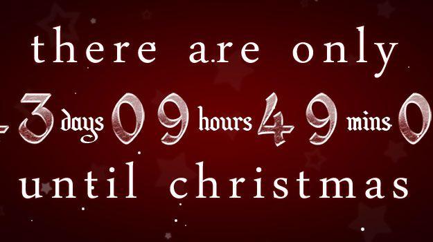 Christmas Countdown Wallpaper For Desktop 2017 – Merry