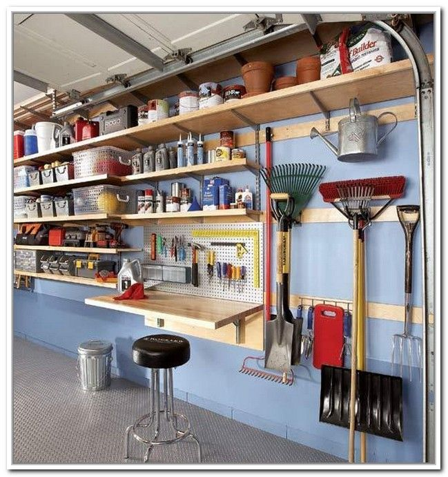 Elegant Garage Yard Tool Storage Ideas