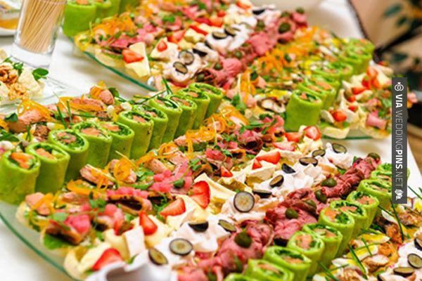 Salad in wedding