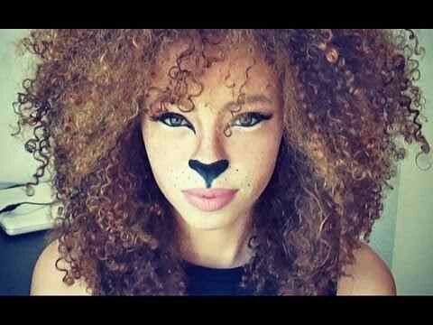 Lion Makeup For Halloween Lion Makeup Lioness Makeup