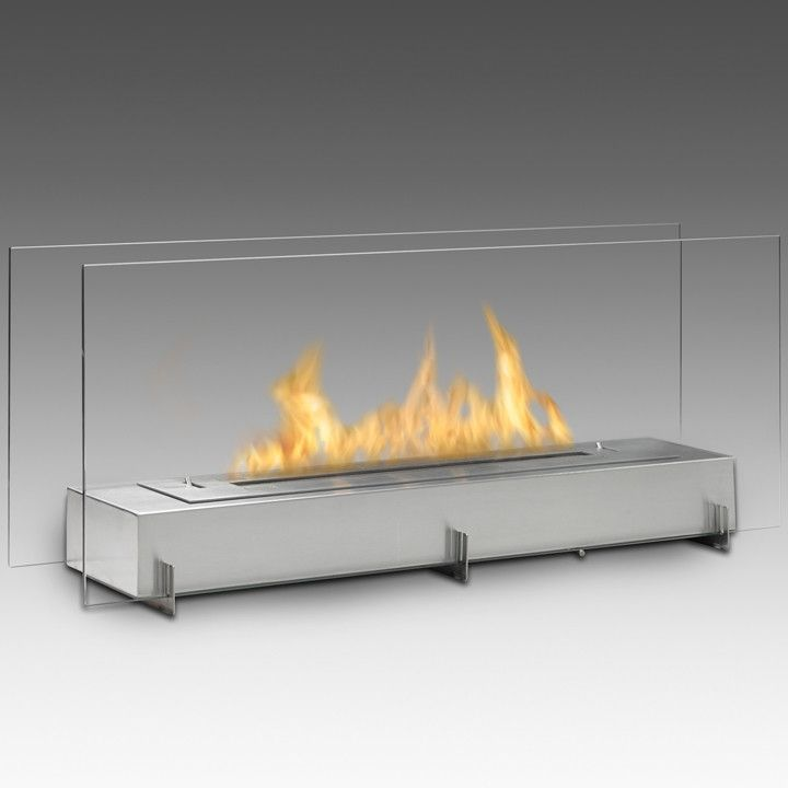 Eco Feu Vision 2 Fireplace Ethanol Fireplace Freestanding Fireplace Standing Fireplace