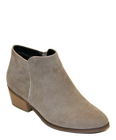 Look at this #zulilyfind! Gray Beauty Ankle Boot #zulilyfinds