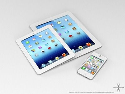 أبل ستطلق جهاز ايباد جديد بشاشة أصغر Ipad Mini Apple Ipad Mini Ipad