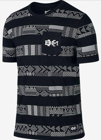 96b6a426 Nike BHM Black History Month Graphic Pattern Tee shirt basketball Lebron  men's #Nike #BasicTee