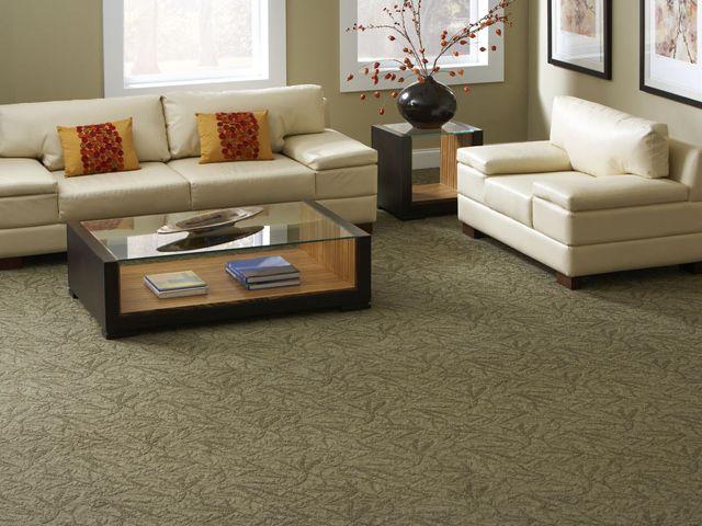 Living room - green carpet | A's house | Pinterest ...
