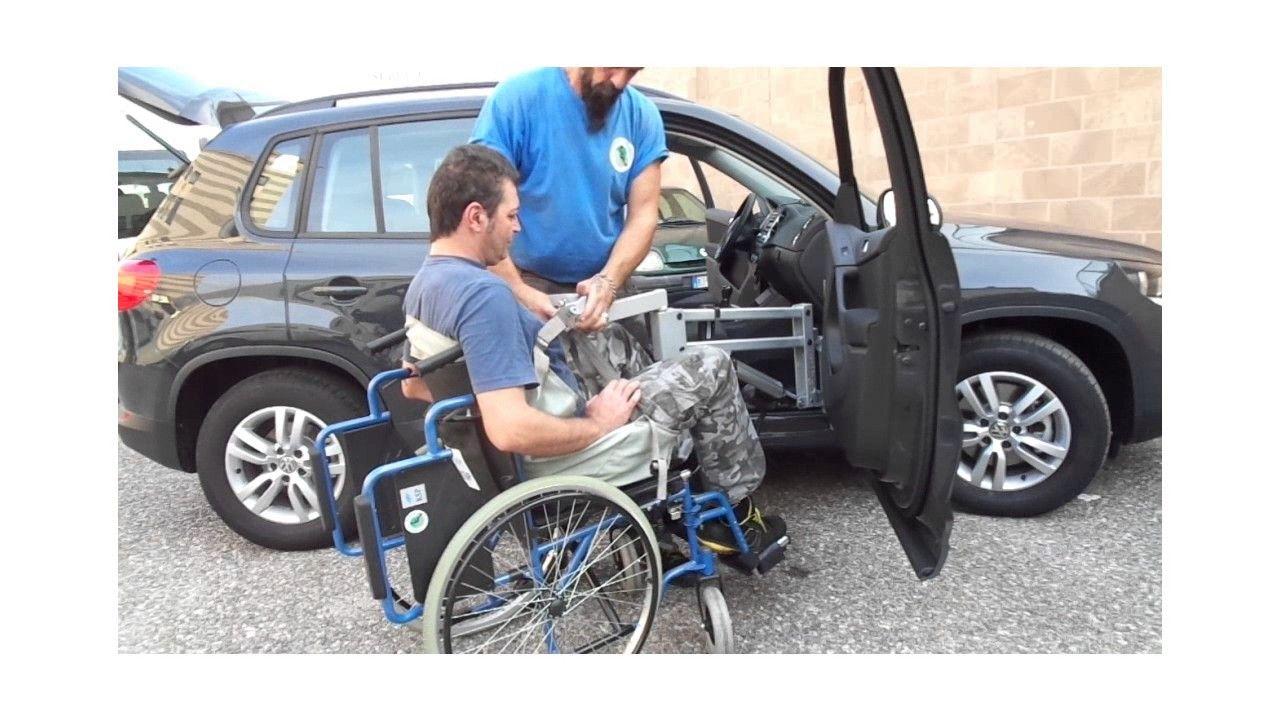 Gruetta Solleva Persone con Staffa Mobile Portata 150 kg Volkswagen Tigu...