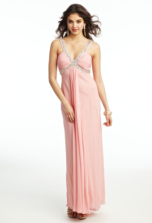 Foil Chiffon Dress from Camille La Vie and Group USA $189 ...