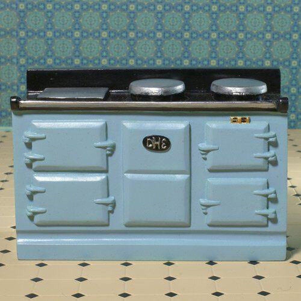 Light Blue Aga-style Stove (PR) | DOLLSHOUSE | Pinterest | Aga ...