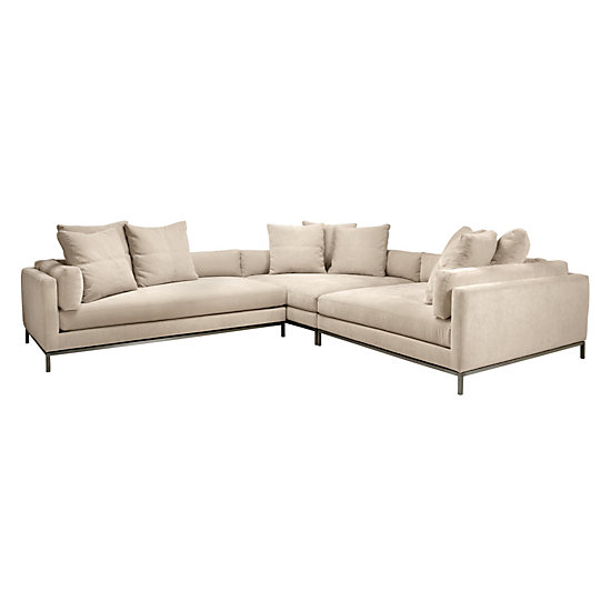 Ventura Sectional 3 Pc Living Room Sectional