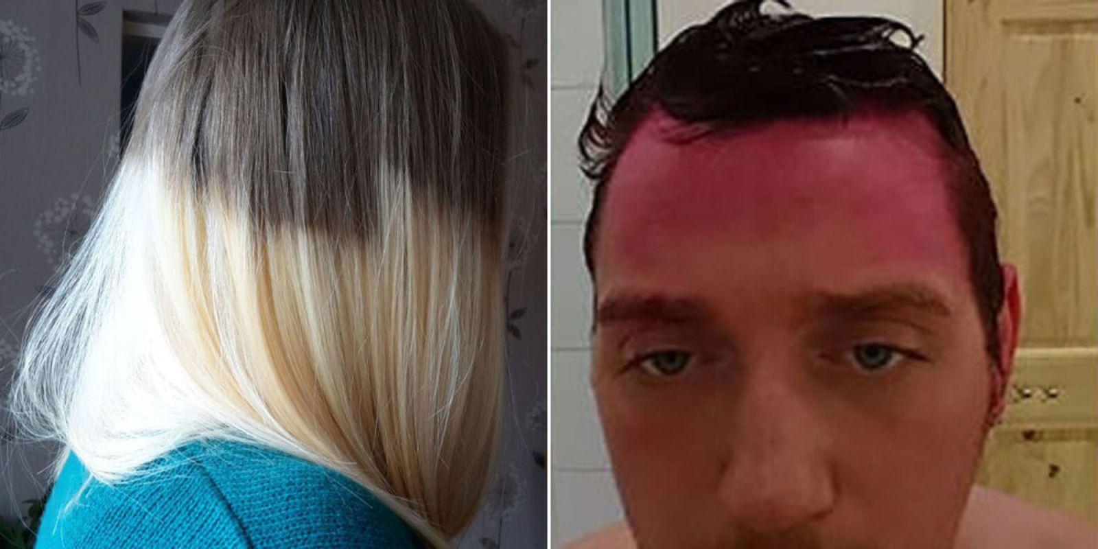 9 Hair Dye Fails That Are Totally Hilarious Black Hair Dye Hair Fails Hair Dye Tips