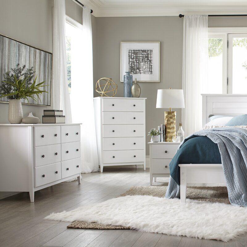 Greenport Solid Wood Platform Bedroom Set White Bedroom Furniture Bedroom Set Platform Bedroom Sets