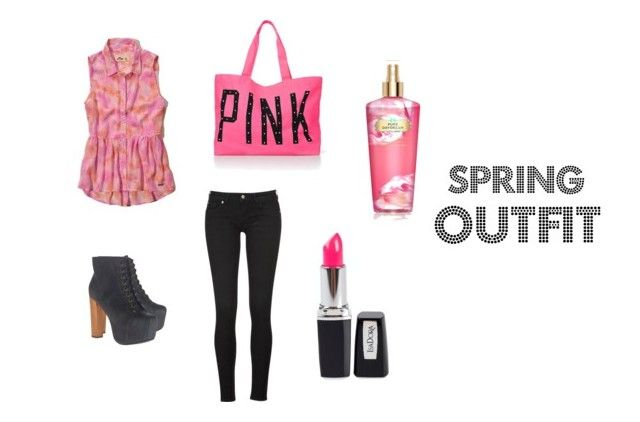 """""""spring outfit<3"""" by tovisen100 ❤ liked on Polyvore"""