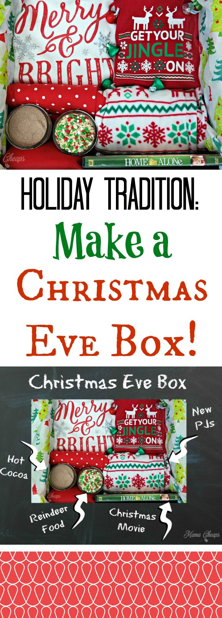 Start a new Holiday Tradition: Make a Christmas Eve Box! http://bit.ly/2g2G3JP