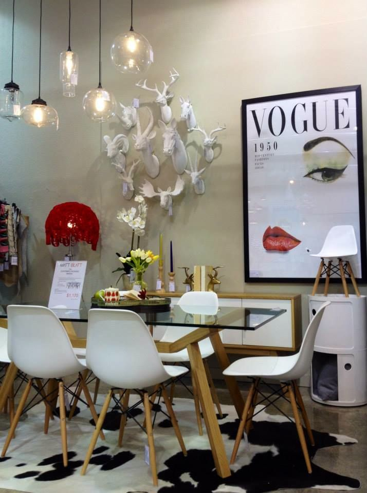 Matt Blatt Dining table Vogue | Our house | Decoración hogar ...