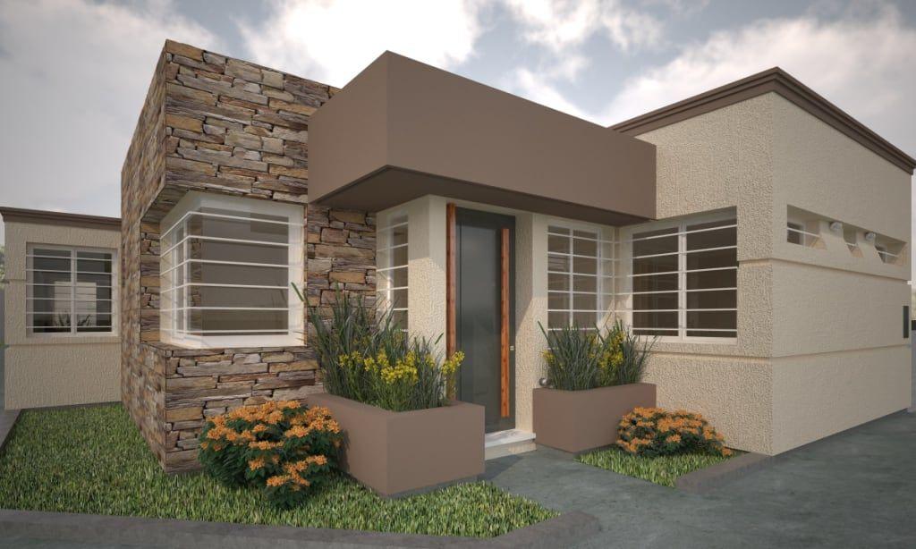 Estudio Barrios Astuto Casas Modernas Homify Frentes De Casas Pintadas Pinturas De Casas Exterior Colores Casas Exteriores