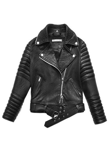 The Leather Jacket If you don't have one of these, you may want to think about investing in one: It's a no-brainer for those chilly nights out when your other toppers just don't feel cool enough. #refinery29 http://www.refinery29.com/classic-style#slide-10