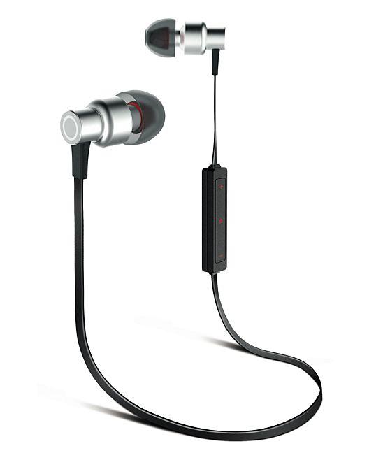 Silver TitanZ Wireless Earbuds