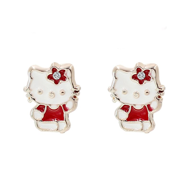 Hello Kitty Stud Earrings //Price: $2.99 & FREE Shipping // World ...