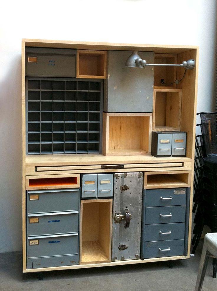 Incr veis espa os de trabalho para artistas designer de - Muebles de garaje ...