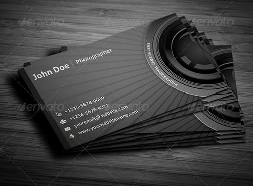 17 Best Photography Business Card Templates The Lifemoment