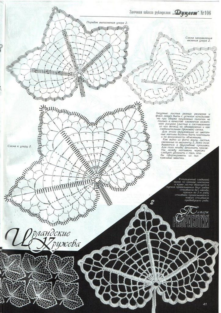 Free diagram irish leaf pinteres irish russian leaf crochet interesting diagram showing detached stage ccuart Image collections