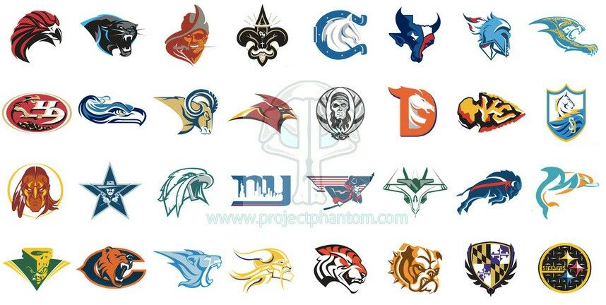 Fake Alternate Nfl Logos
