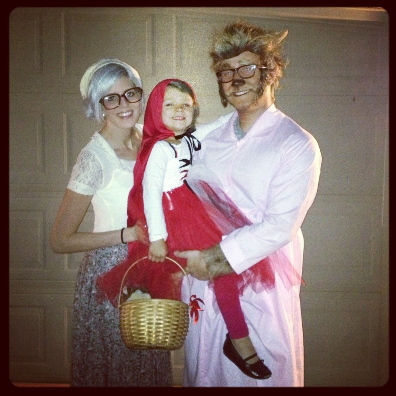 Little Red Riding Hood Grandma And The Bad Wolf Matching Family Costumes