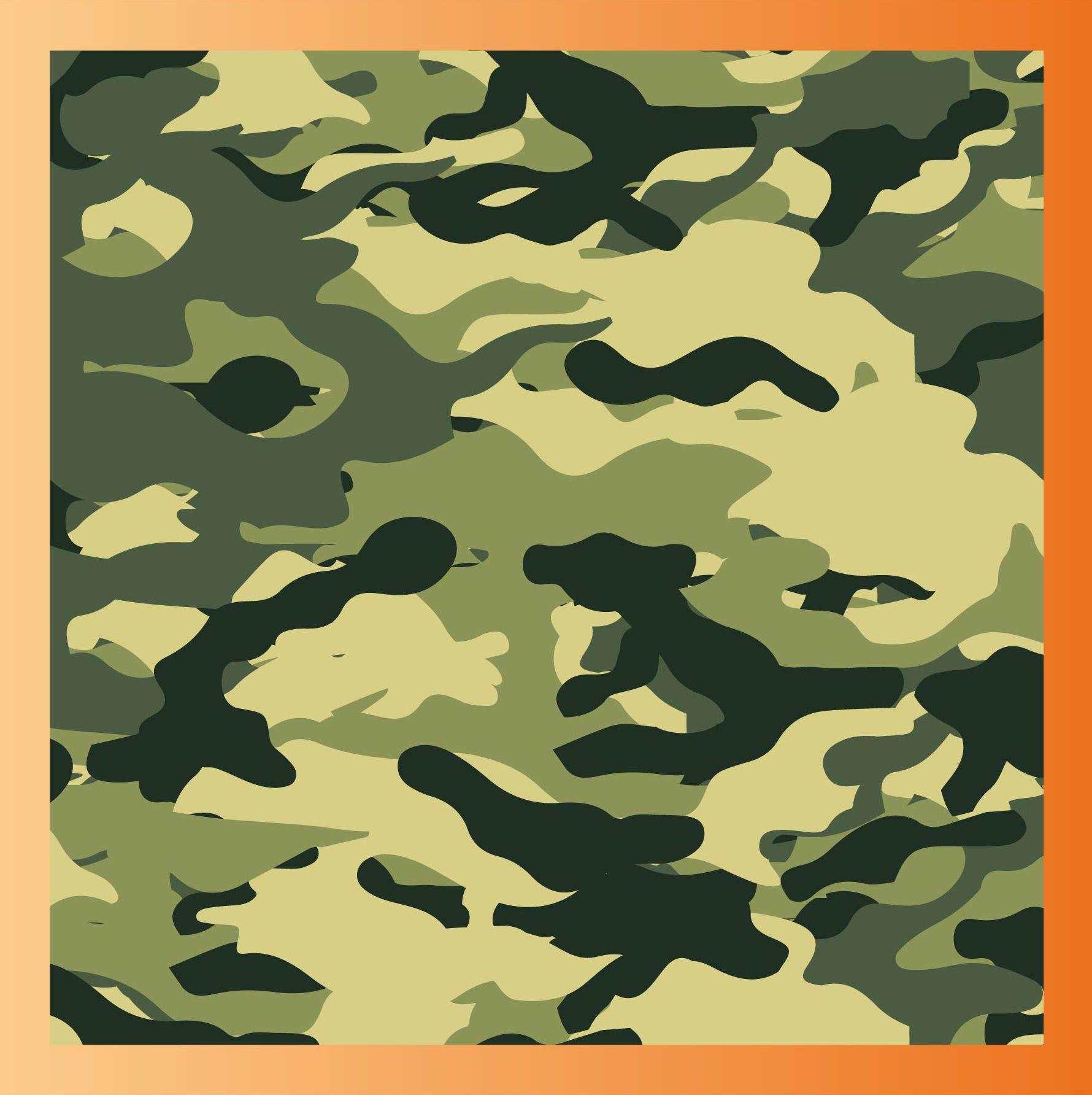 tutoriel pour apprendre  u00e0 cr u00e9er un motif camouflage sur illustrator