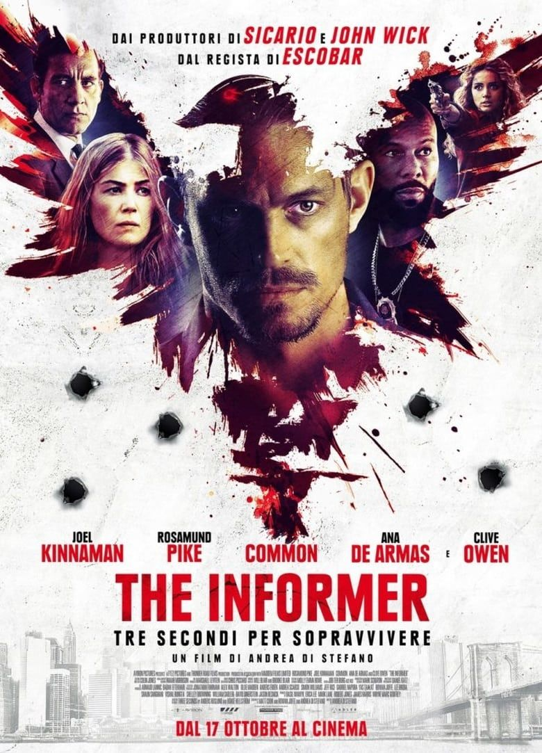 The Informer (2019) HDRip x264 (Tamill+Telugu+Eng) Movie 1.1GB 720p Download