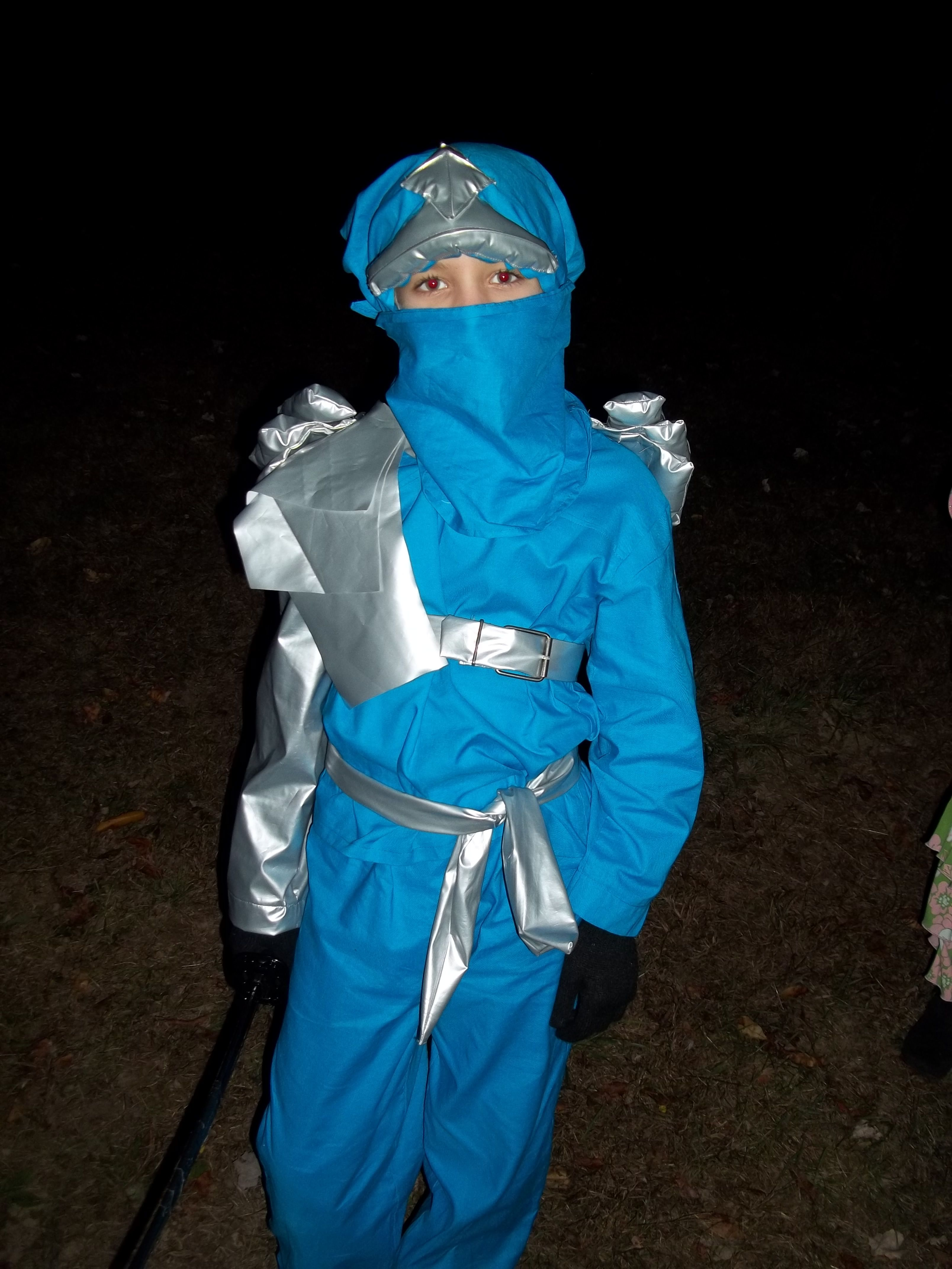 Jay Lego Ninjago Halloween Costume Blue Ninja. I used a P.J. pattern for the basic shape then added the 3 dimensional accessories that I made from silver ... & Jay Lego Ninjago Halloween Costume Blue Ninja. I used a P.J. pattern ...
