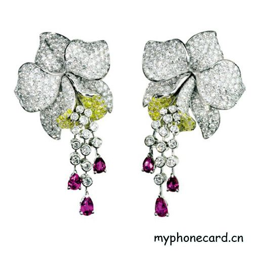 Jewelry Trends Cartier Orchid jewelry CARTIER