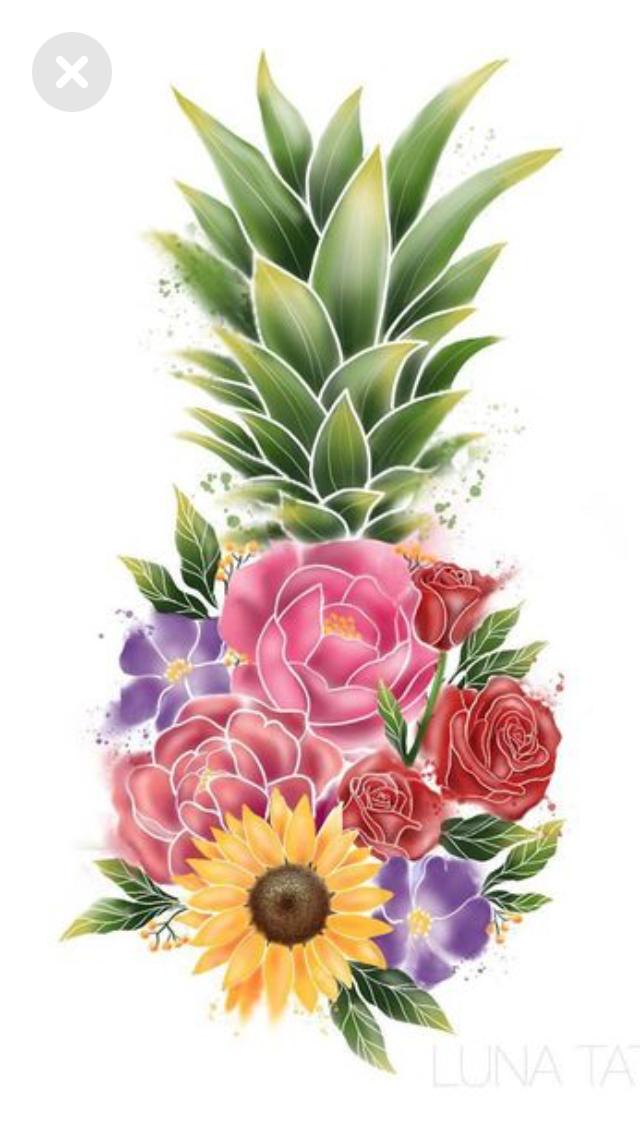 Photo of This as a tattoo but with the kids birth flowers