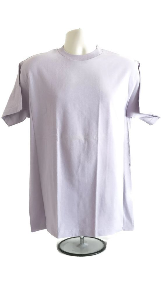 Men's AlStyle Apparel AAA T-Shirt Tee Shirt Lavender Light Purple X-Large XL New #AlstyleApparel #AShirt