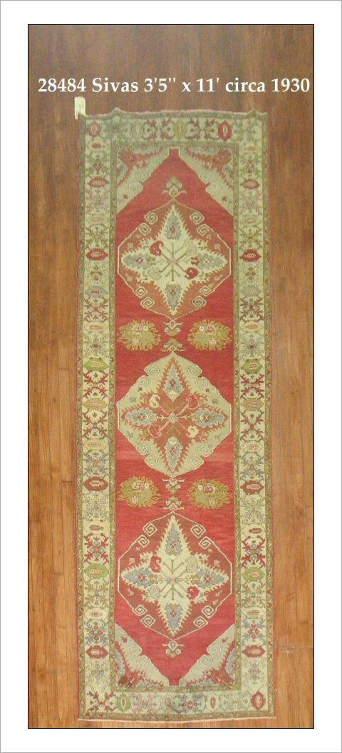 Sivas Rug Number 28494 Size 3 5 X 11 Rugs R