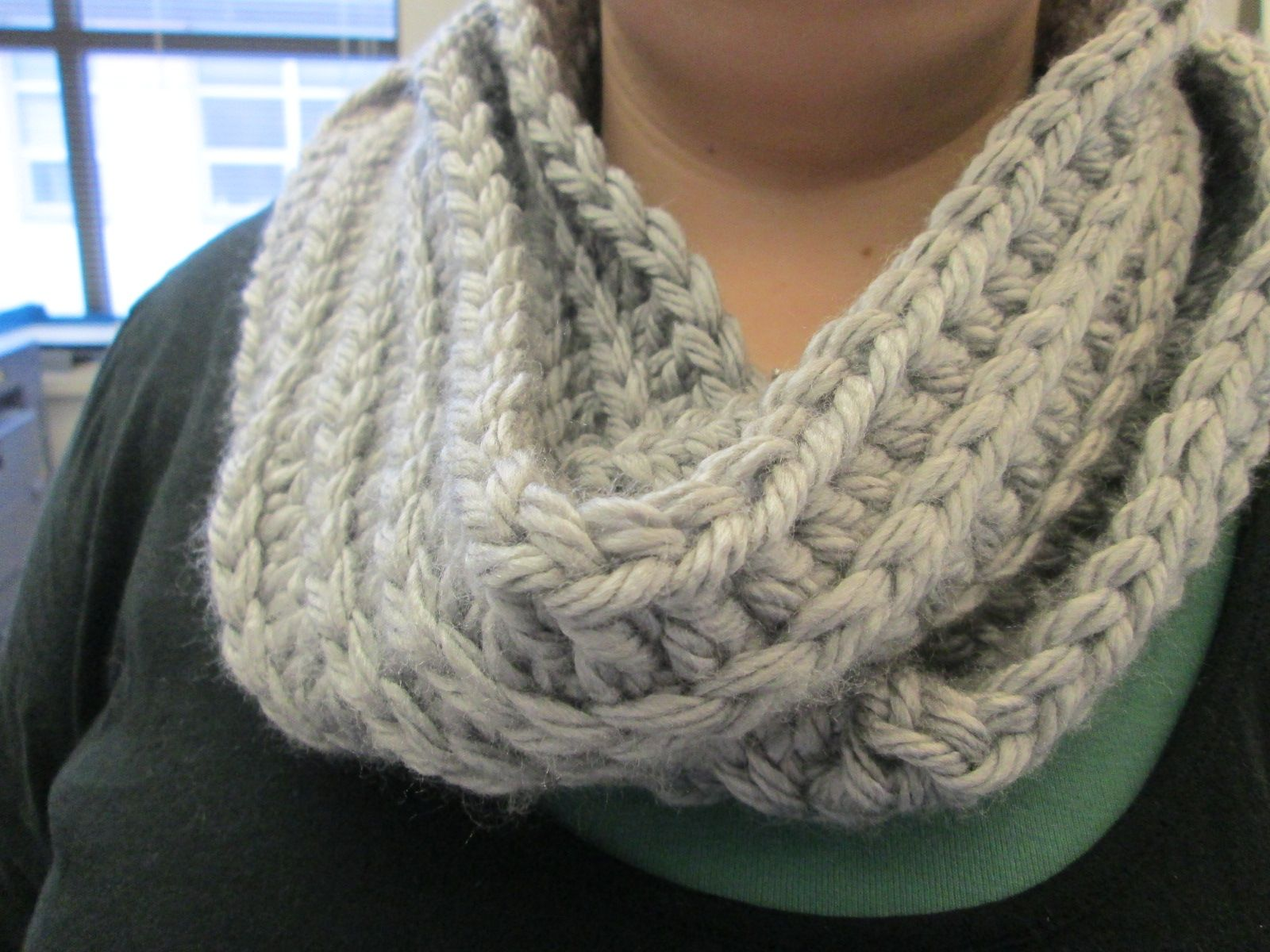 A Variation of an Infinity Scarf