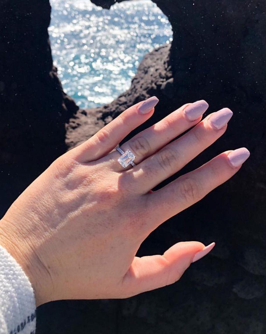 Luke Combs Fiance Engagement Ring Fiance Engagement Engagement Engagement Rings