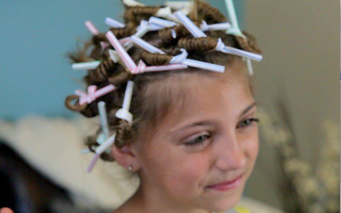 NoHeat Straw Curls  Frühling  Pinterest  Straw curls Disney