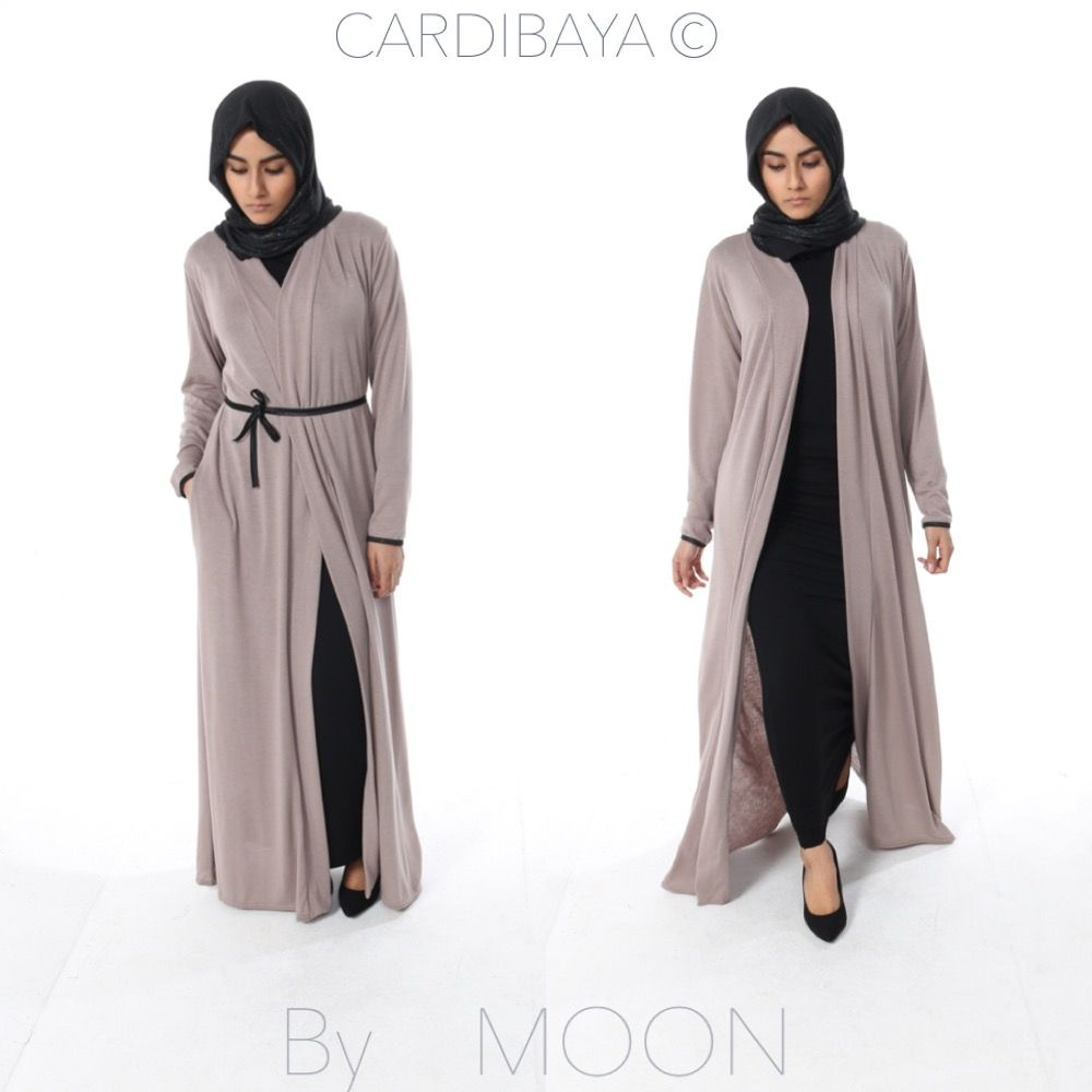 CARDIBAYA Abaya Cardigan 2 In 1 THE MOON BOUTIK Modestly