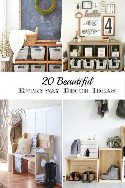 20 Beautiful Entryway Decor Ideas Entryway decor, Farmhouse style