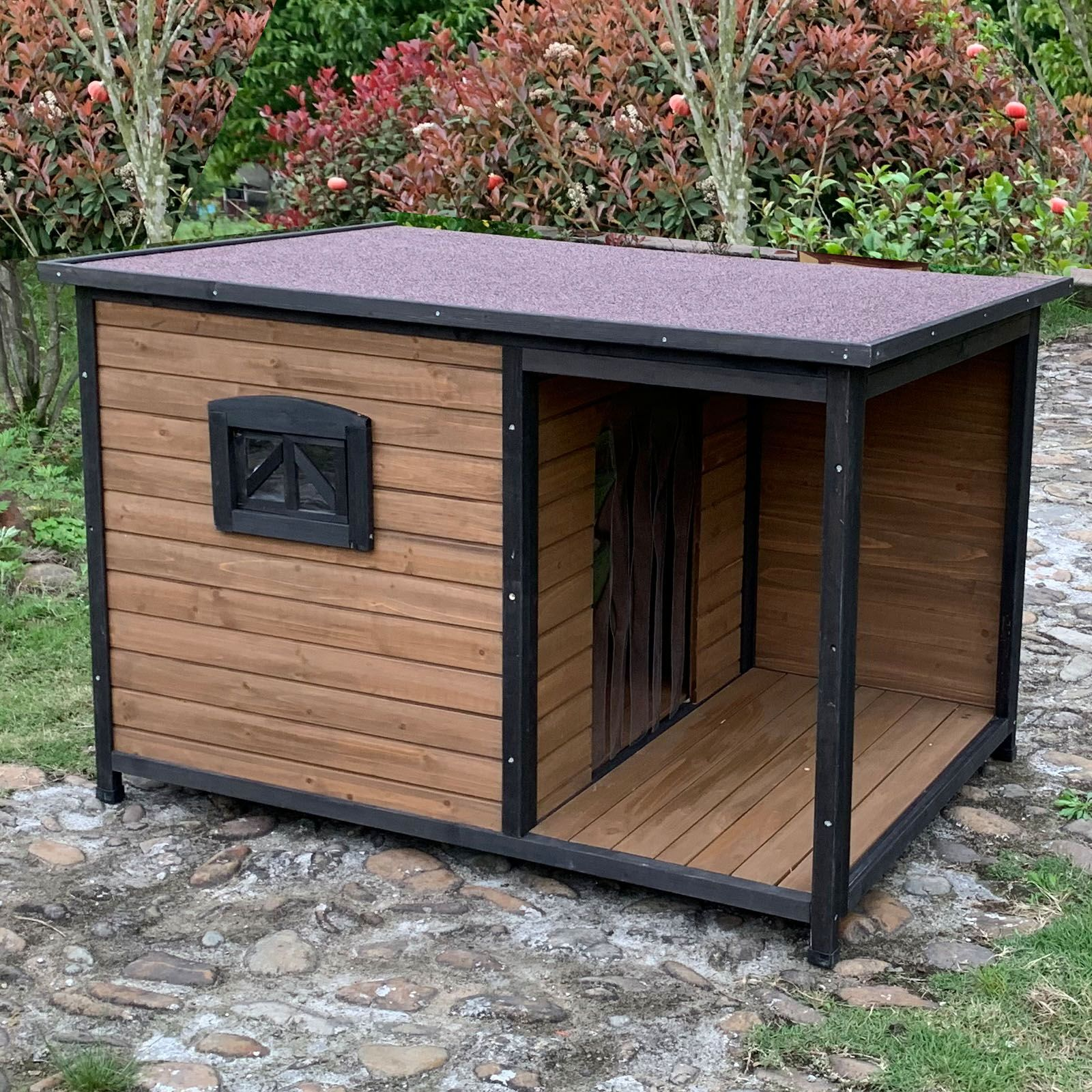 Extra Large Dog Kennel With Balcony For Medium To Large Breeds