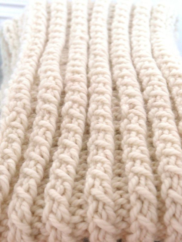 DIY: Milk, le dernier snood de l\'hiver - Bee made | Tricot | Pinterest