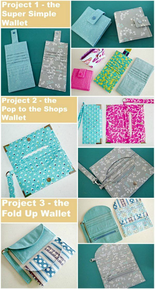 Craftsy Sewing Wallets Class - Free Giveaway | Bags | Sew wallet