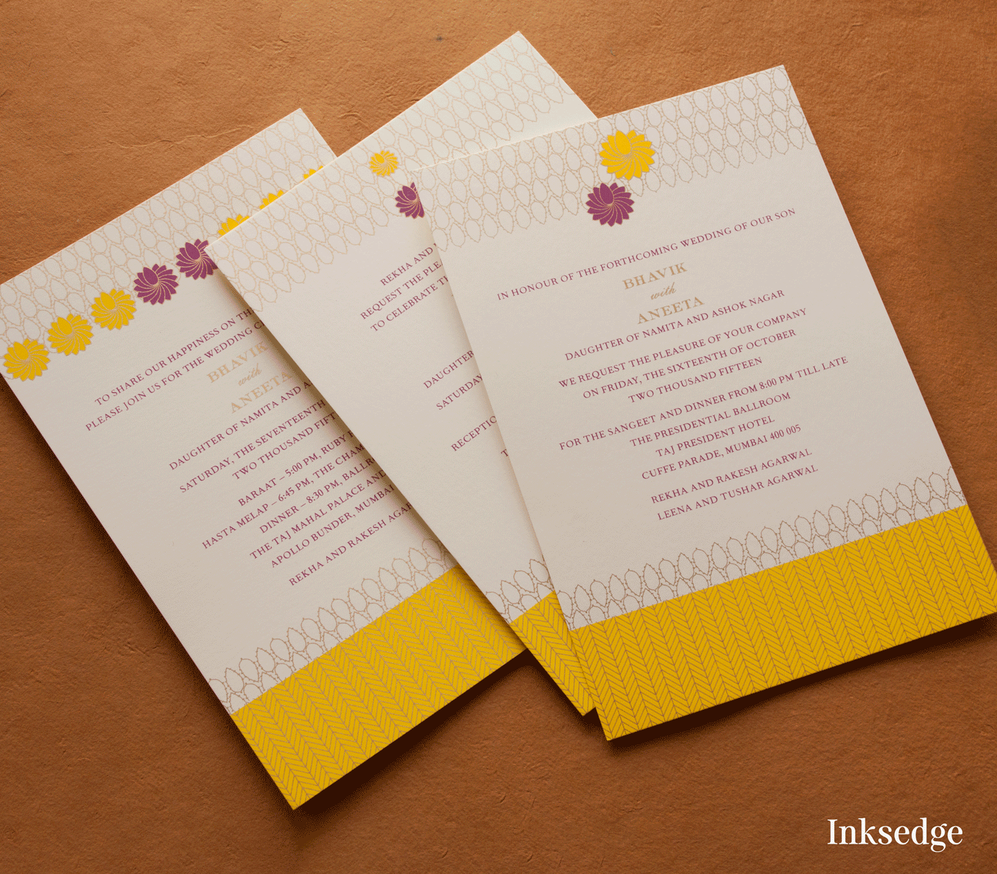 indian wedding invitation mumbai%0A Find this Pin and more on Designer Wedding Invitation Cards